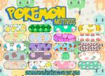 Motivos 01| Pokemon | Photoshop