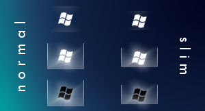 Windows 7 Clean Start Orb B,W