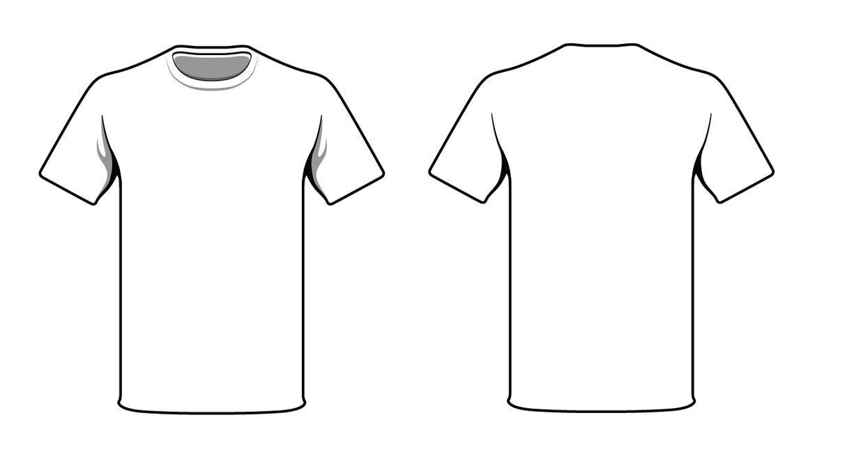 white t shirt by alymunibari on deviantart rh deviantart com t shirt layout vector t shirt layout vector