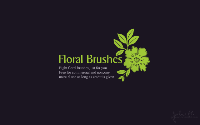 Resources: Floral Brushes