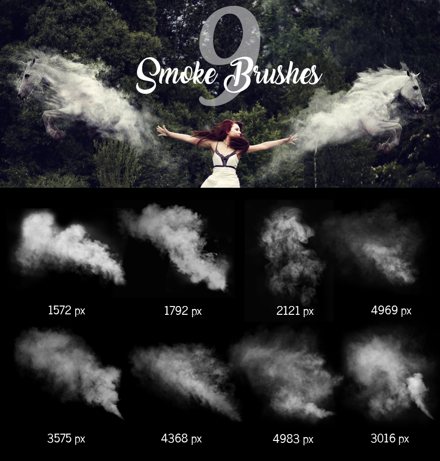 Smoke Brushes by pelleron