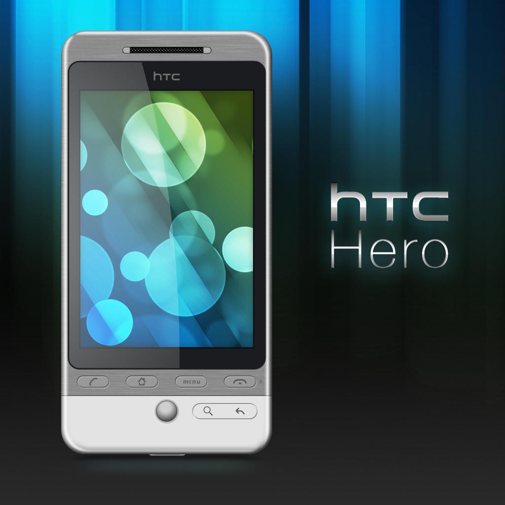 HTC Hero PSD by dylanrw
