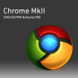 Chrome MkII Icons and PSD