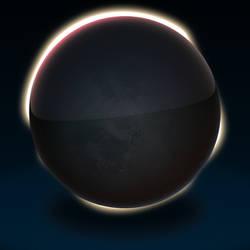 Eclipse Icon PSD