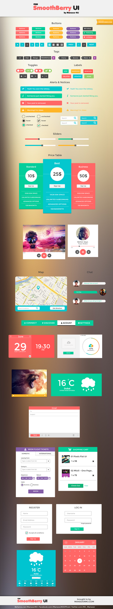 Smooth Berry UI by MansoorMj