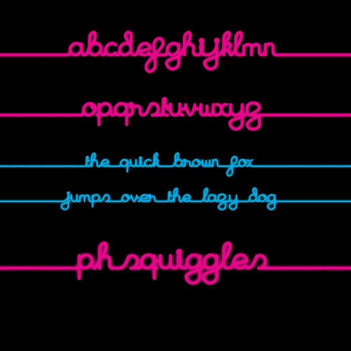 PH Squiggles Bold SAMPLE