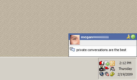 Facebook Chat for Guification by undrline