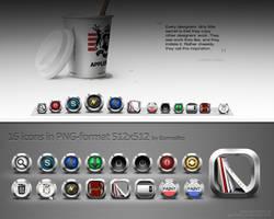 Icons 2 by gormelito