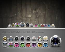 Icons 3 by gormelito