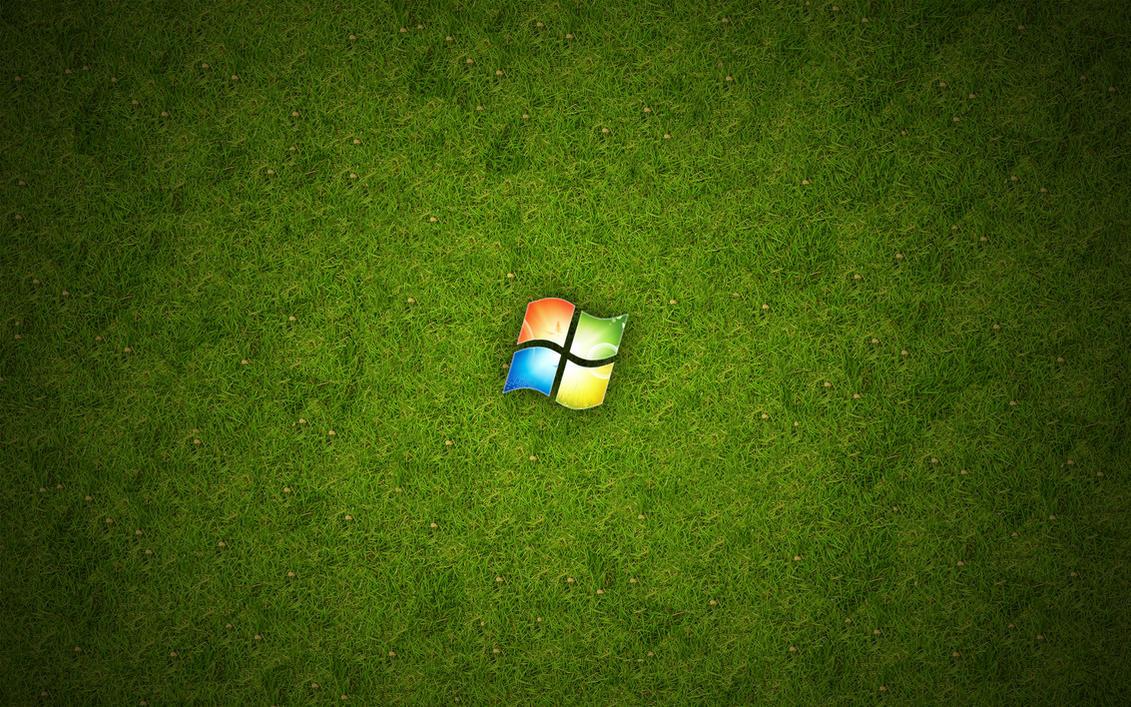 Windows Wallpaper Hd Green By Cezarislt On Deviantart