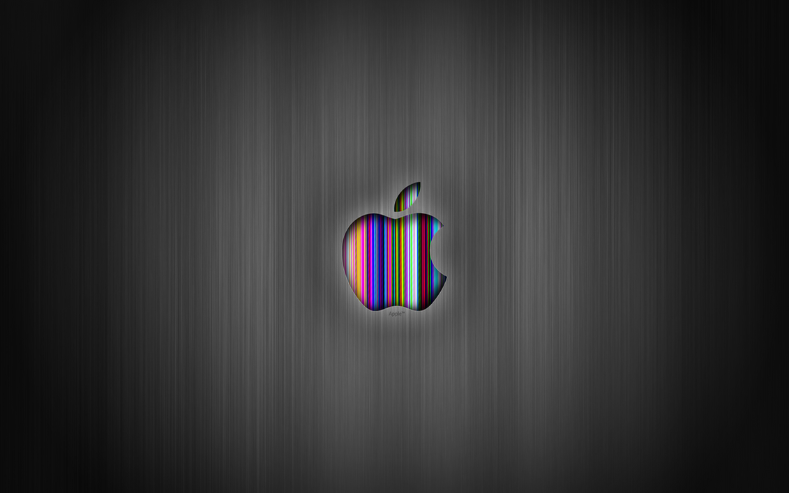 apple hd gray wallpaper maccezarislt on deviantart