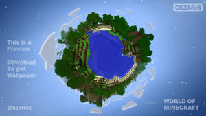 World Of Minecraft Wallpaper