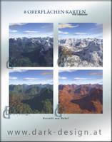 8 Terragen Karten by DaSef