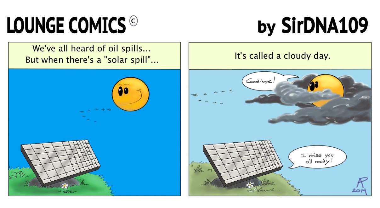 Lounge Comics: Solar Spill