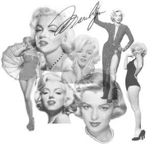 Marilyn Monroe Brush Set