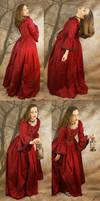 red dress set 2