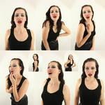 Vampire portrait set