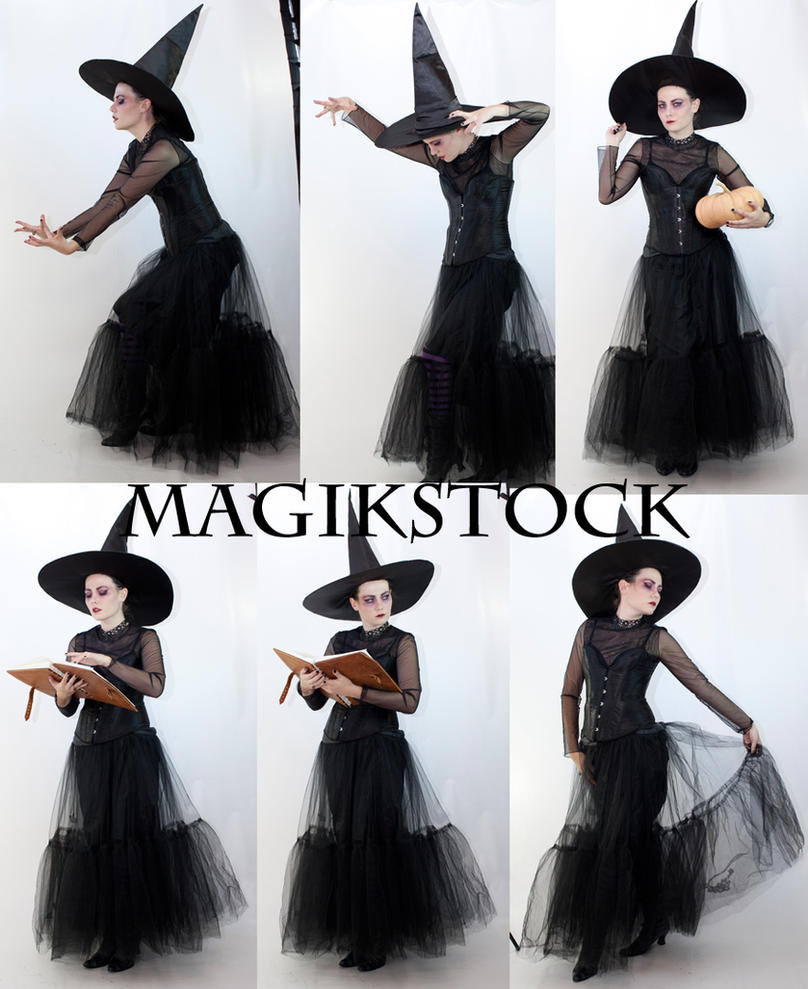 Witch set 2 by magikstock