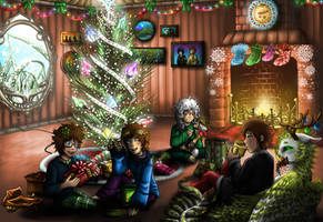 Christmas with the kids by SweetIntent