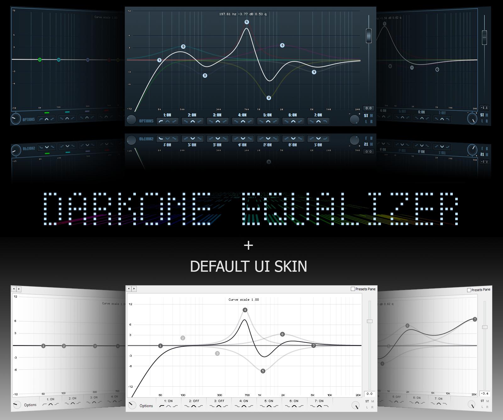 DarkOne Equalizer [Default UI add!] by Markeight on DeviantArt