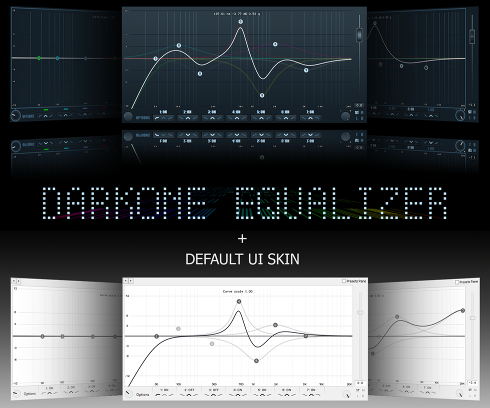 DarkOne Equalizer [Default UI add!] by Markeight