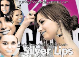 Silver Lips ACTION by Runningforlove