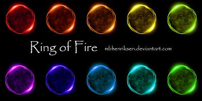 STOCK: Ring of Fire