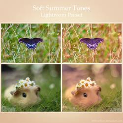 Soft Summer Tones - Lightroom Preset by MBHenriksen