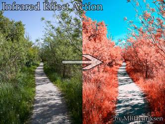 Infrared Effect Action by MBHenriksen