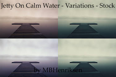Jetty On Calm Water - Variations - Stock by MBHenriksen