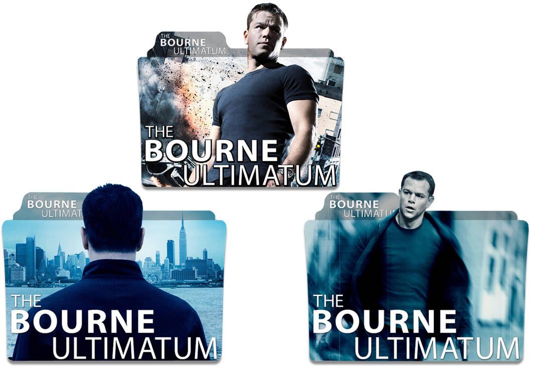The Bourne Ultimatum 2007 Folder Icon Pack By Zsotti60 On Deviantart