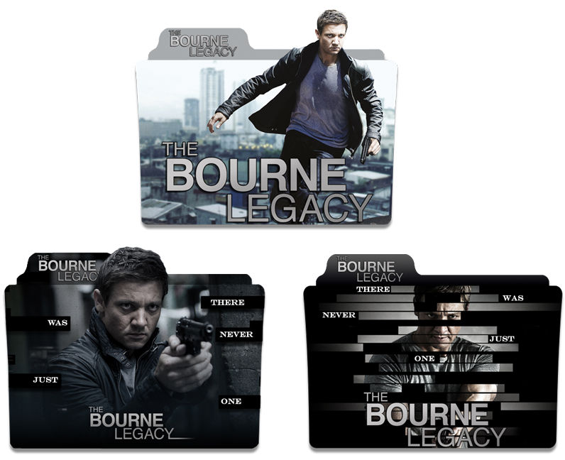 The Bourne Legacy 2012 Folder Icon Pack By Zsotti60 On Deviantart