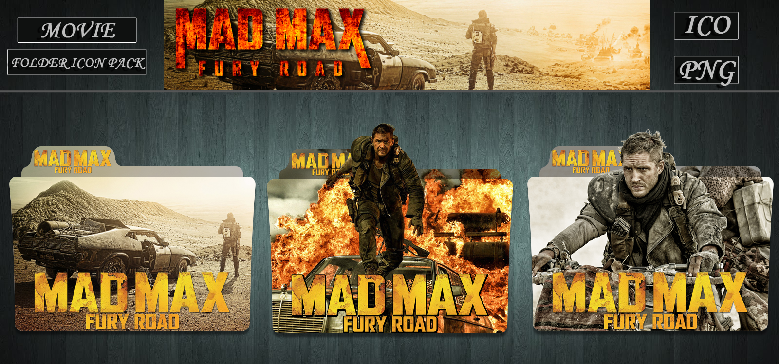 Mad Max Fury Road 2015 Folder Icon Pack By Zsotti60 On