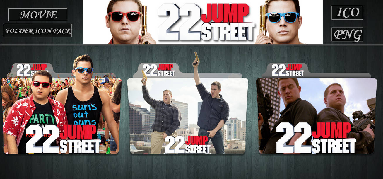 22 Jump Street 2014 Folder Icon Pack By Zsotti60 On Deviantart