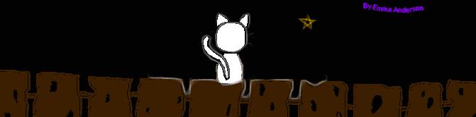 Kitty on fence :3 by BunnyTheeKitten