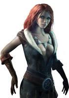 Triss Witcher 1.psd by Scratcherpen