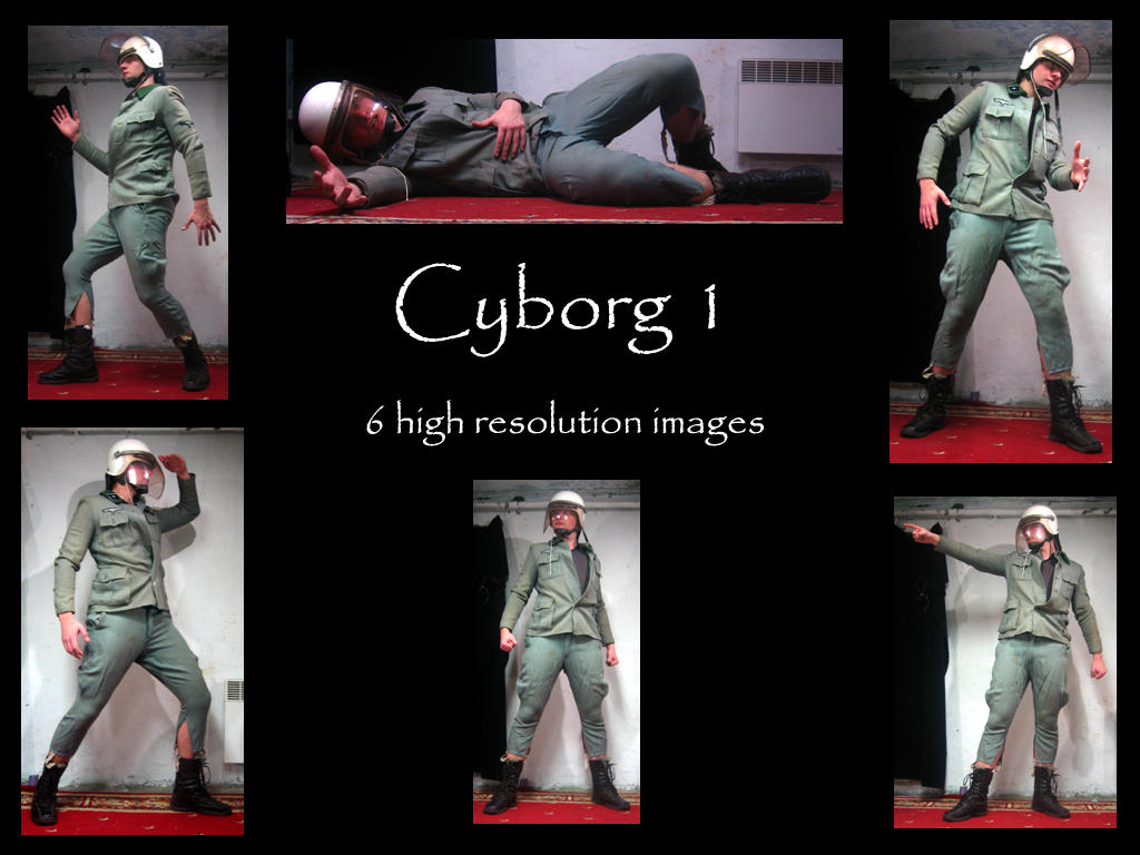 Cyborg stock 1 by Mithgariel-stock