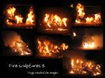 Fire sculptures 3