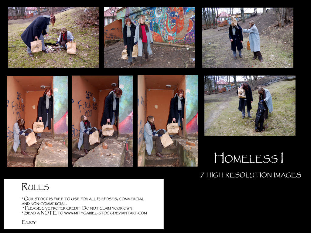 Homeless I pack by Mithgariel-stock