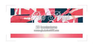 20 icon textures - pink polish