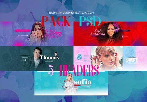 +Pack Headers en PSD
