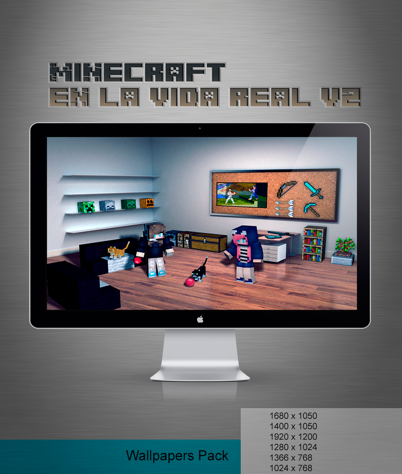 Minecraft en la vida real v2 by Extreme001