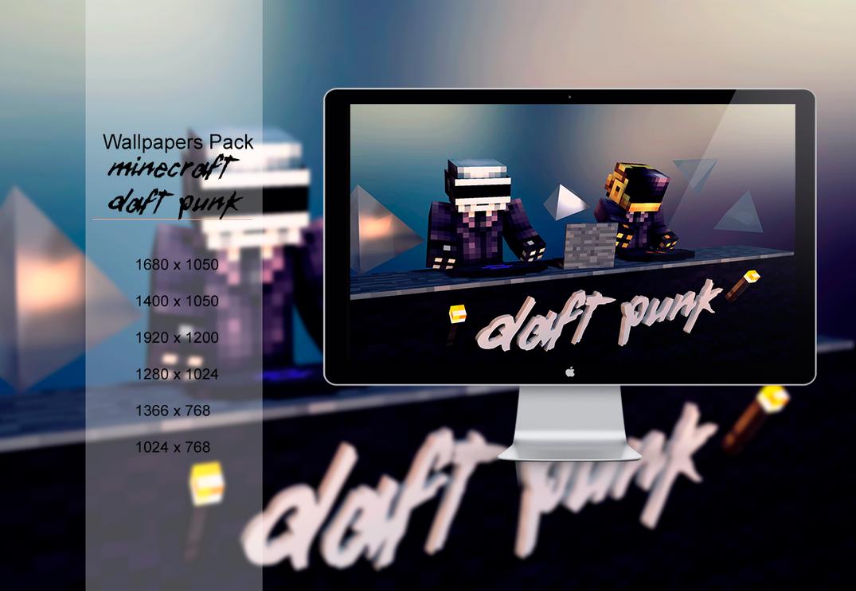 Minecraft- Daft Punk by Extreme001