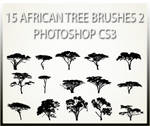 15 African Tree Brushes 2 CS3