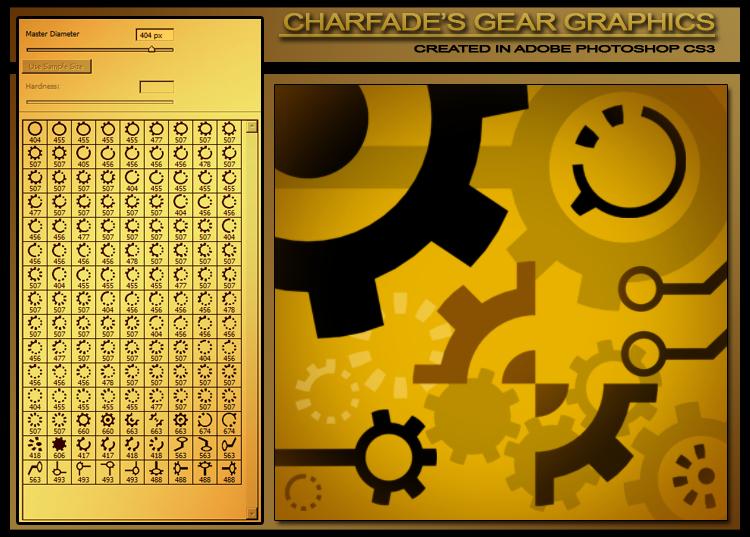 Charfade's Gear Graphics by charfade