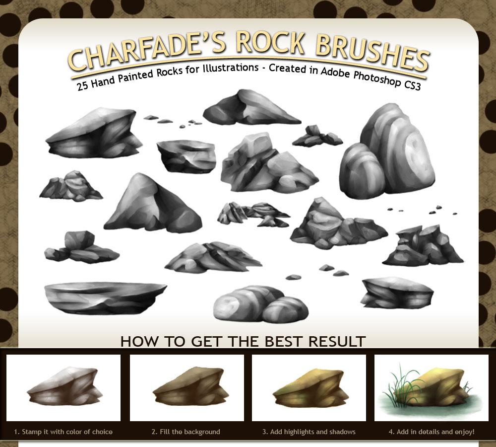 Charfade's Rock Brushes