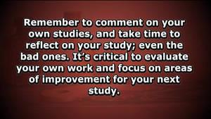 Video: Speedpaint Study Tips and Tricks