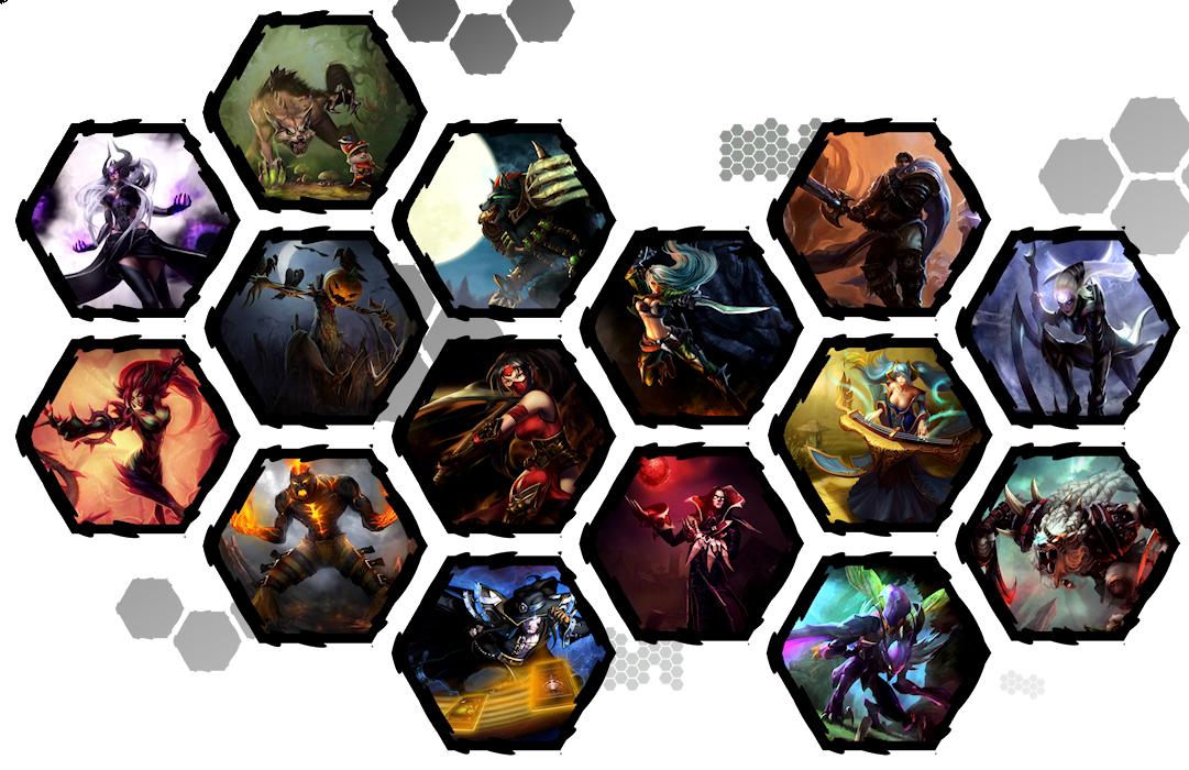 League of Legends by WE4PONX on DeviantArt