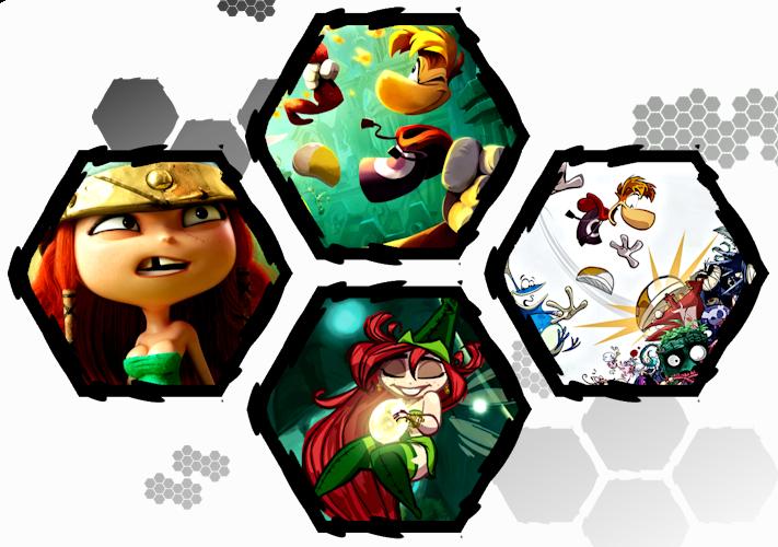 Rayman Legends and Rayman Origins by WE4PONX