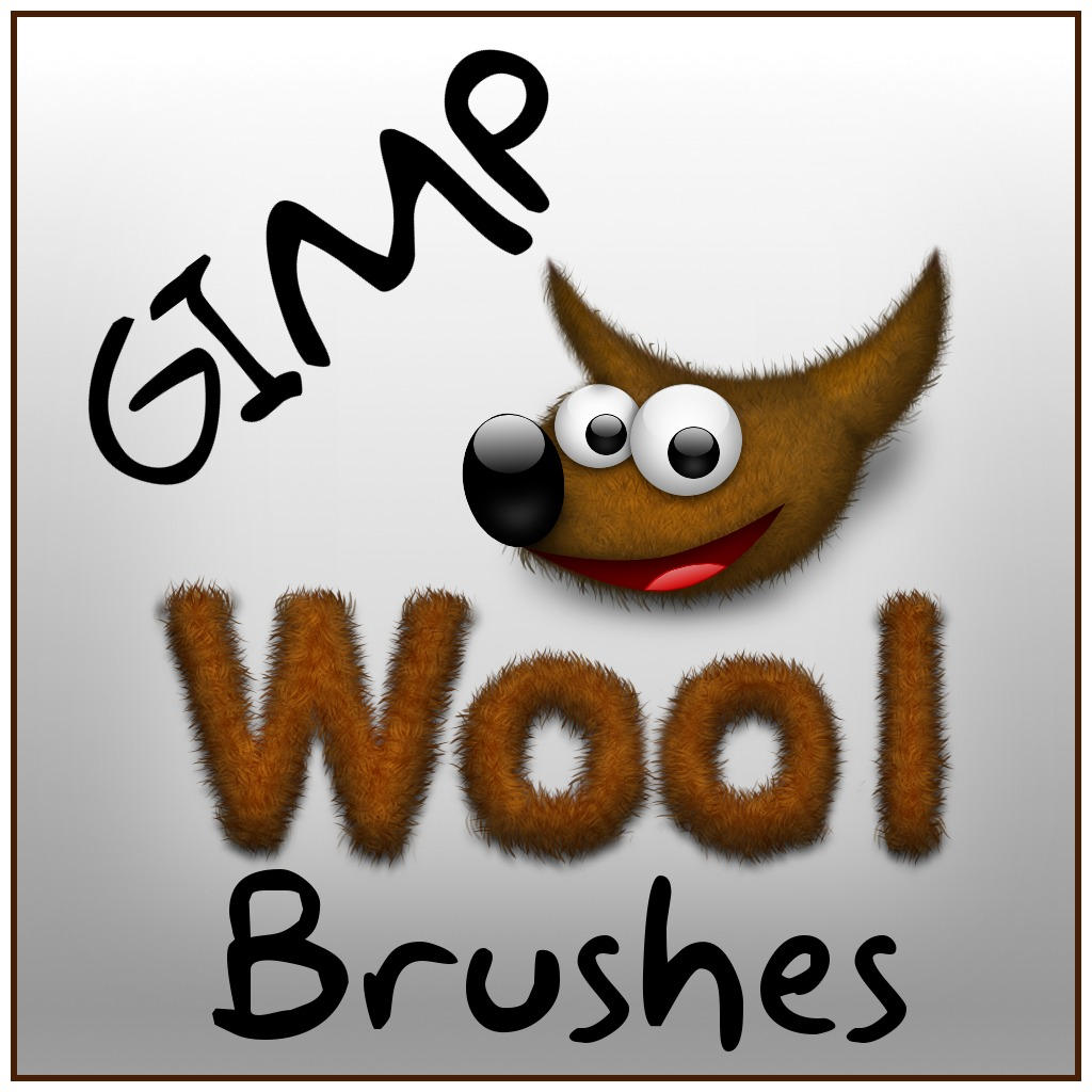 Wool Brushes for the GIMP by BaNaNA-BOi
